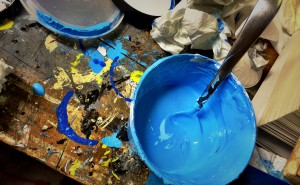 Mixing ink